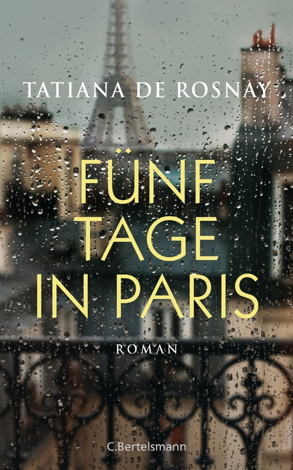 Book: The rain watcher by Tatiana de Rosnay